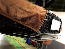 R8 (クーペ)balance it カーボンリップスポイラーの単体画像