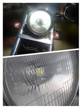 V-TWIN マグナ不明 4WAYS LEDヘッドライトバルブ H4の単体画像