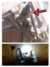 V-TWIN マグナ不明 4WAYS LEDヘッドライトバルブ H4の全体画像
