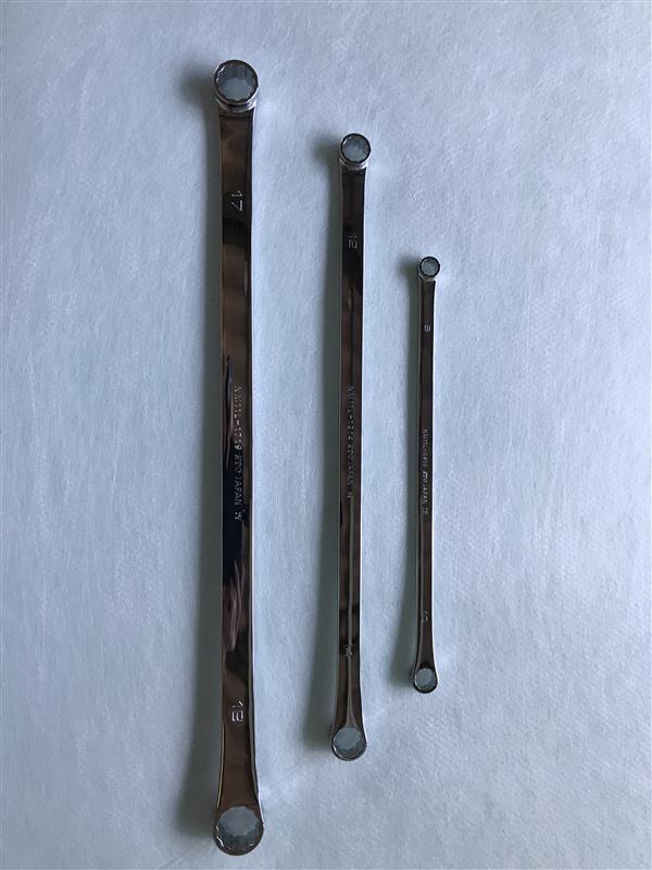 KTC / 京都機械工具 nepros nepros 超ロングストレートめがねレンチ NM11L-0810~2224