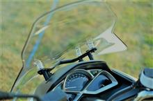 マジェスティSヤマハ:ワイズギア ウインドシールドの単体画像