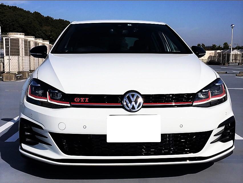 VW  / フォルクスワーゲン純正 フロントバンパーグリル グロスブラック加工