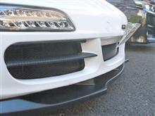 911 (クーペ)ワンオフ品 フロントバンパーダクトメッシュの全体画像