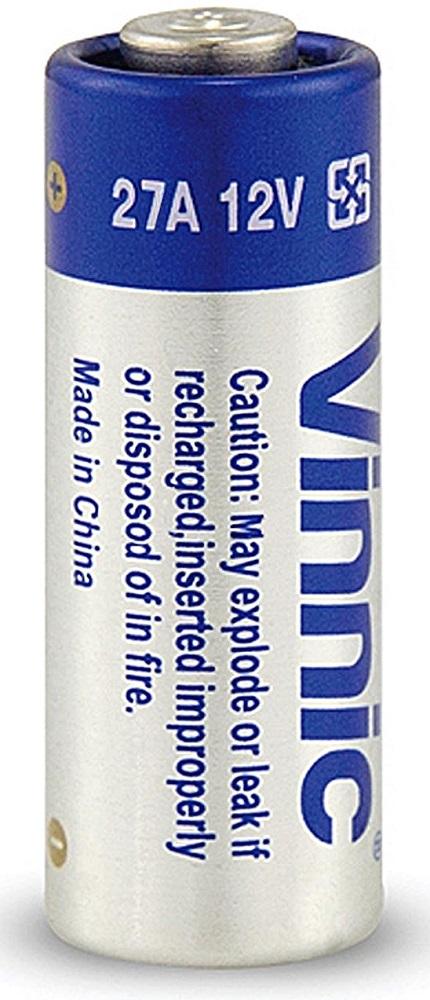 Vinnic  27A 12V アルカリ乾電池