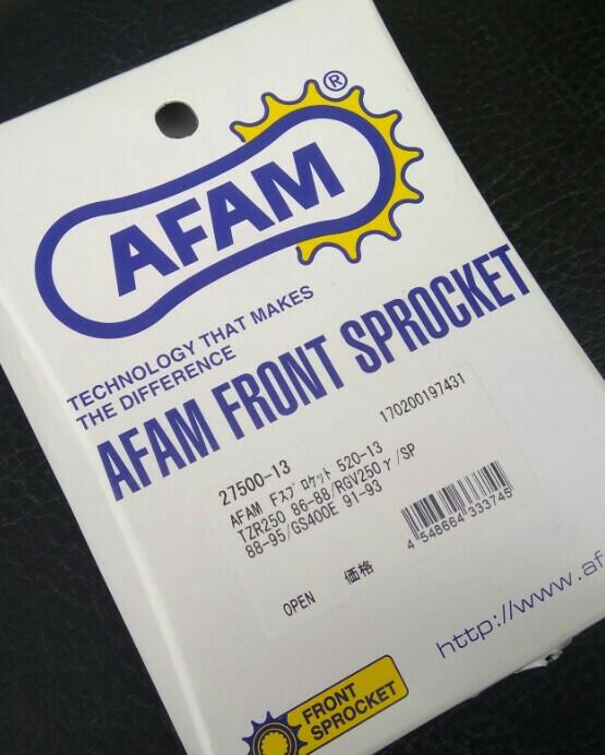 AFAM フロントスプロケット520-13