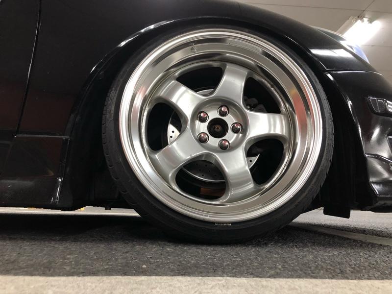 トヨタ(純正) ドリルド加工 ブレーキローター