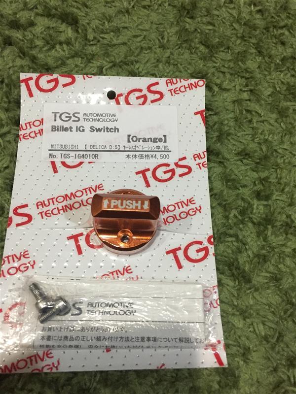 TGS AUTOMOTIVE TECHNOLOGY Billet IG Switch