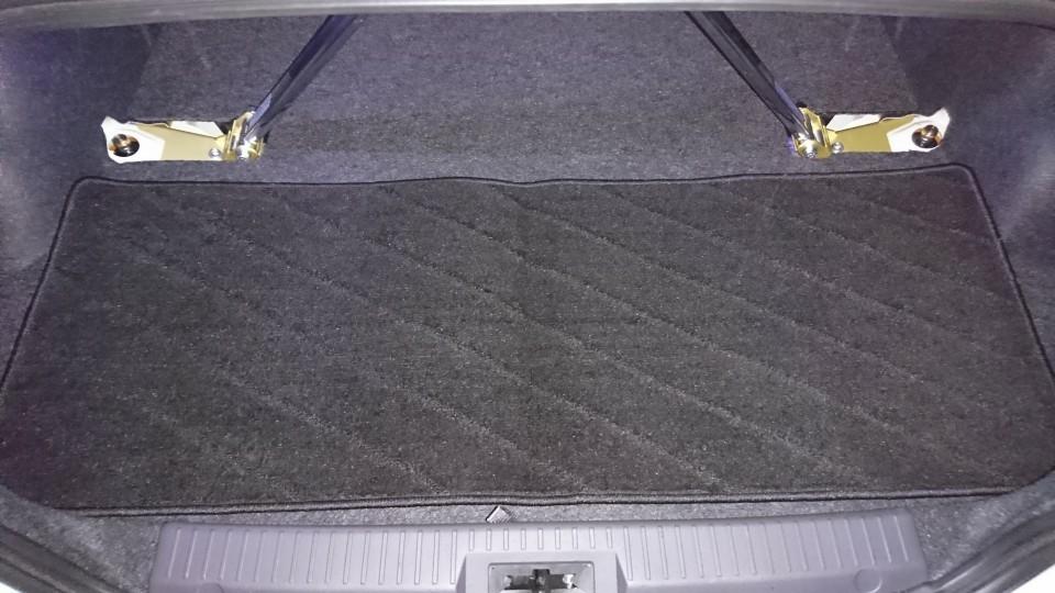 ノーブランド 汎用 ラグマット フロアマット サードラグマット カーマット Sサイズ