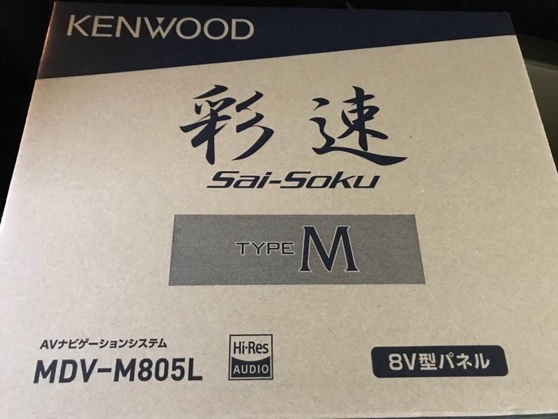 KENWOOD MDVーM805L