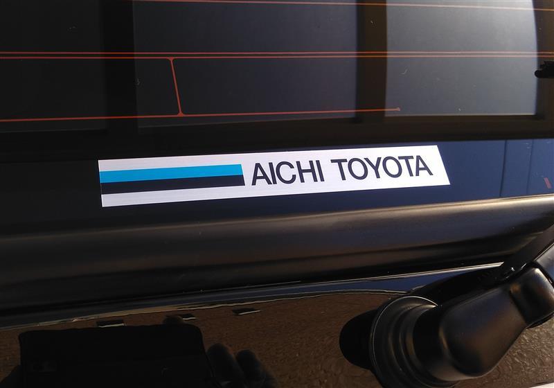 レプリカ 愛知トヨタディーラーステッカー