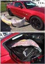 マスタング クーペフォード(純正) 2010-2012 GTバンパーの全体画像