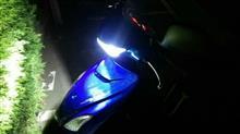 アドレス125SPROTEC CYCLONE LED SERIES LED HEADLIGHT BULB KIT PH11 6000Kの単体画像