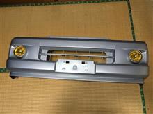 サンバースバル(純正) フロントバンパー、フォグ付の単体画像