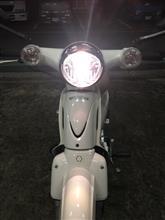 スーパーカブ110PROTEK LED ヘッドライトバルブ キットの全体画像