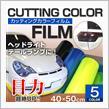 M'S JAPAN カッティングカラーフィルム