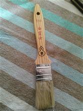タイホウ 刷毛 白富士 メジ 平型10号 短柄