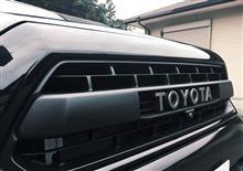 タコマTRD / トヨタテクノクラフト TRD PRO グリルインサートの単体画像
