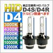 AVAIL 純正交換用HIDバルブ 35W 6000K D4C(D4S/D4R)