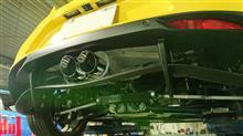 4C スパイダーCENTER LINE Corsa Exhaust 4C Center Exitの全体画像