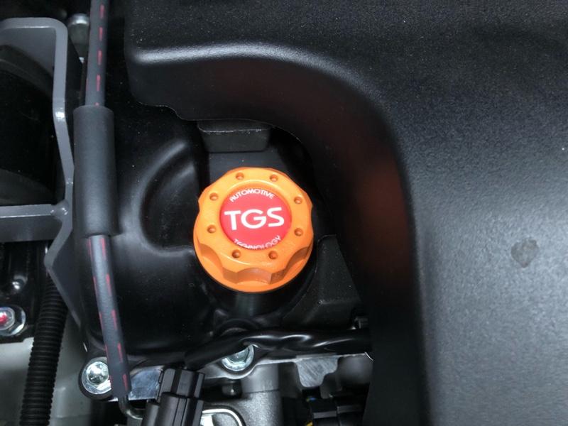 TGS AUTOMOTIVE TECHNOLOGY BILLET OIL FILLER CAP