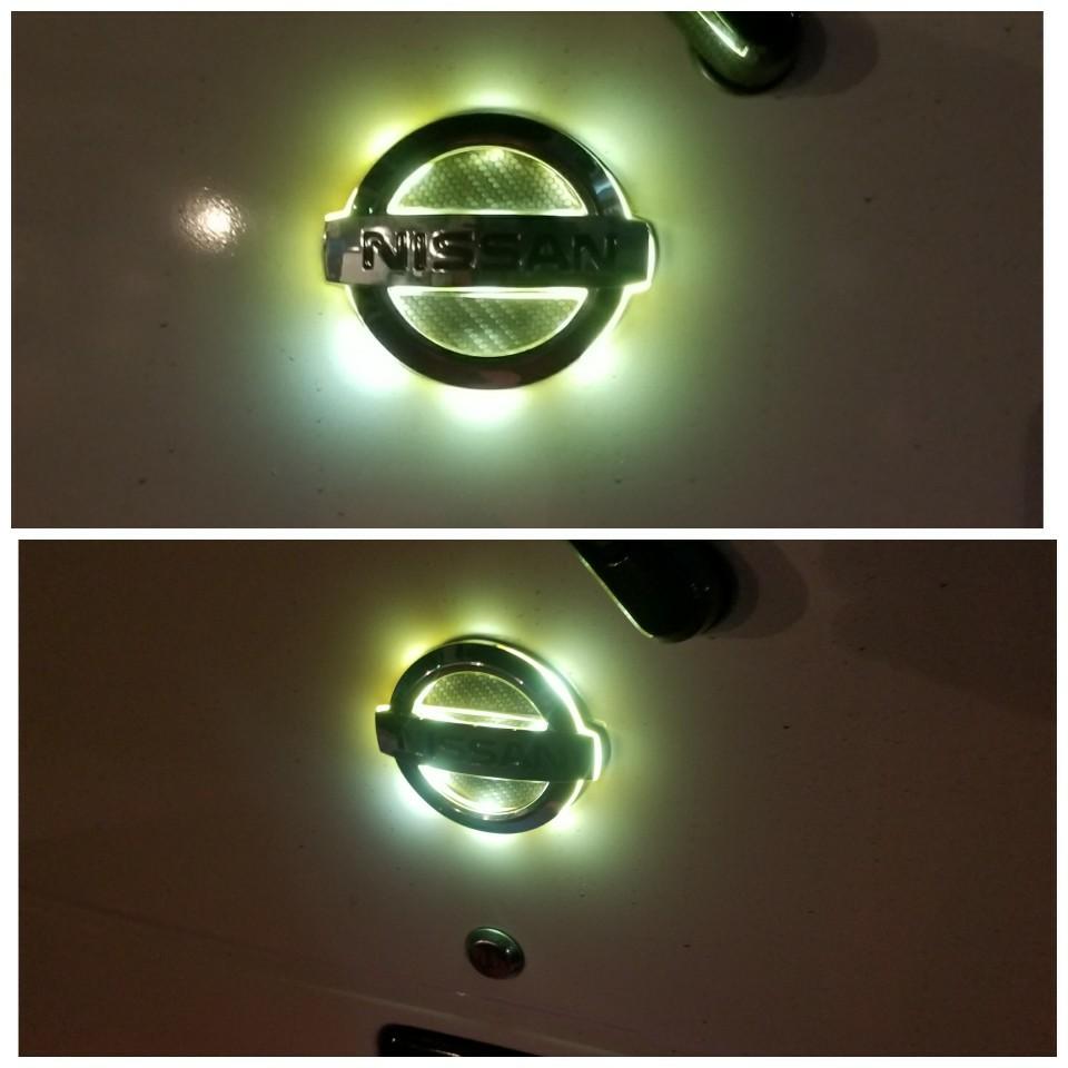 不明 LEDエンブレム