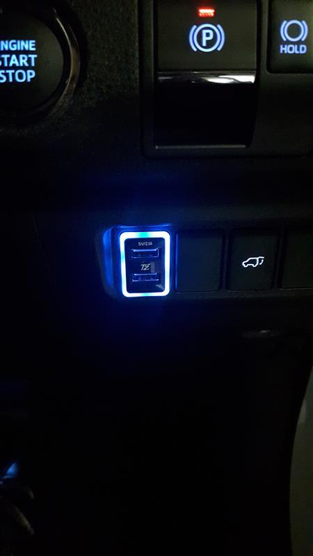 Tzブランド USB充電アダプター