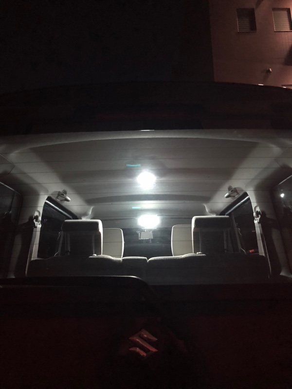 e-auto fun 138発LEDルームランプキット