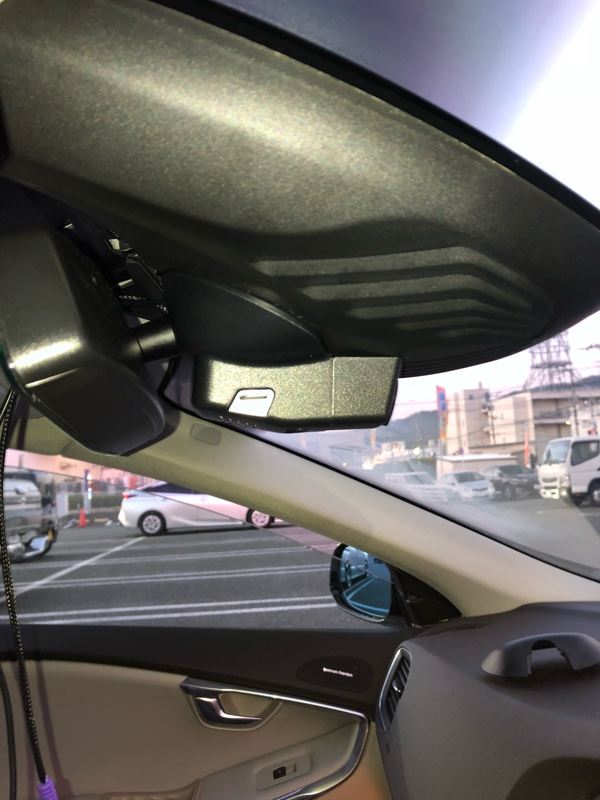 不明 ボルボV40専用ドライブレコーダー