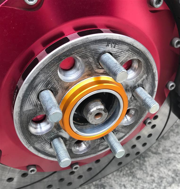 セルヴァ アルミ製ツバ付きハブリング 65→54.1ミリ 4枚