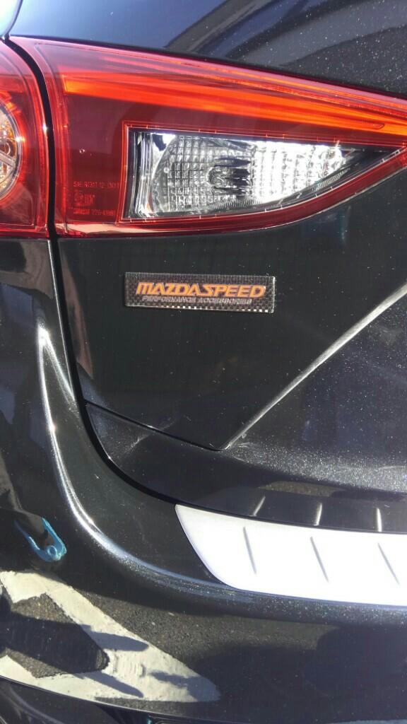 ヤフオク産 MAZDAスピードステッカー?