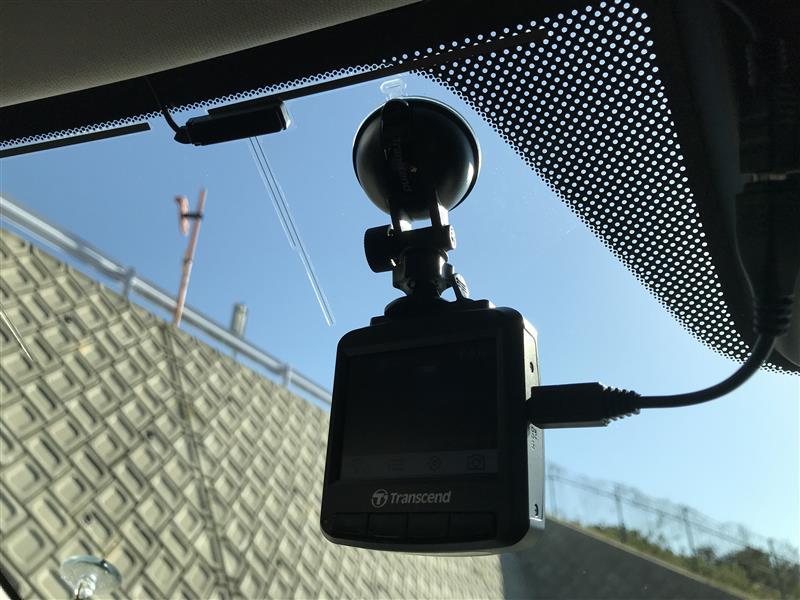 Transcend  DrivePro230ドライブレコーダー