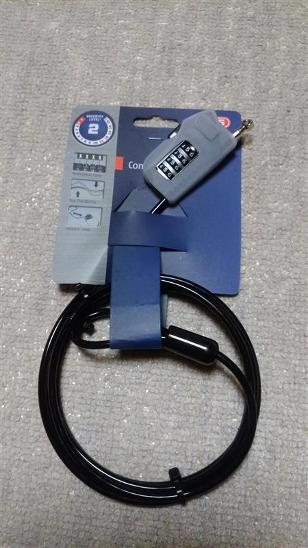 Abus 205 Combi-loop ケーブルバイクロック