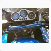POSH ハンドルブレースTYpe2 シャフト ブルー 206mm