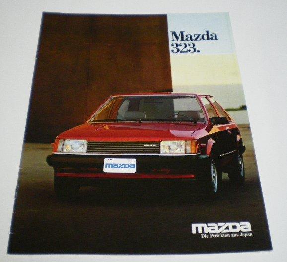 マツダ(純正) Mazda323カタログ その1