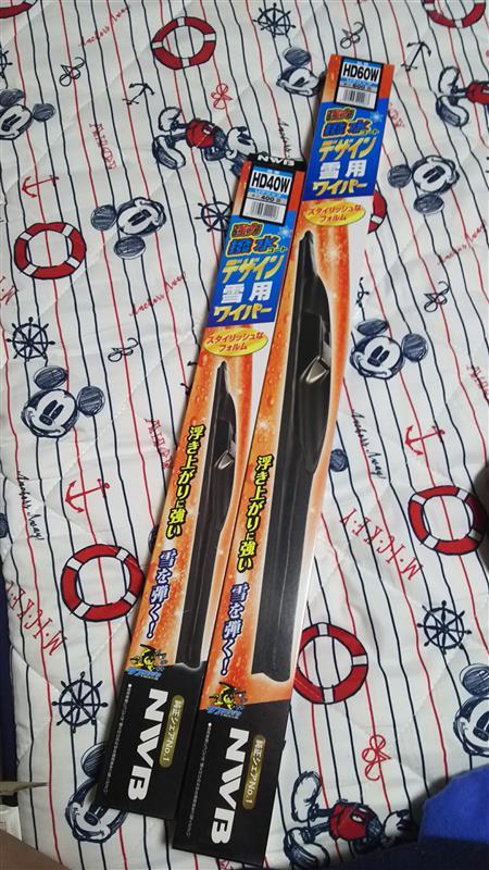 NWB / 日本ワイパーブレード 強力撥水コートデザイン雪用ワイパー