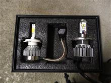 トリッカーメーカー・ブランド不明 LED HEADLIGHT H4/3000Kの全体画像