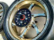 XJR1300O・Z / O・Z Racing GASS RS-A チタニウムアルマイトの単体画像