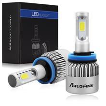 ワゴンRハイブリッドDICEN X6 HB3 COBチップ LED ヘッドライト (ハイビーム用・四面発光)の全体画像