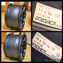 NSXRAYS VOLK RACING ZE40の全体画像