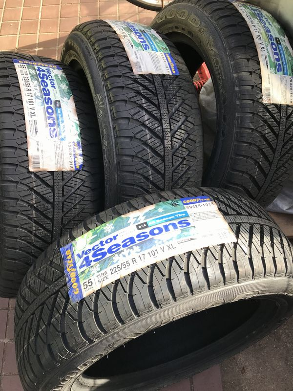 GOODYEAR Vector Vector 4Seasons Hybrid 225/55R17