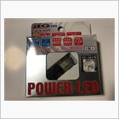 RACING GEAR POWER LED バックバルブ T16 6500K RGH-P614