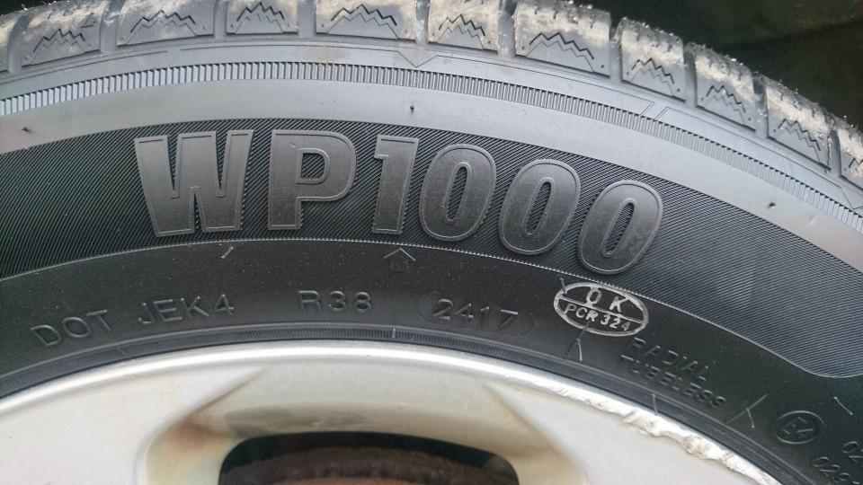 zeetex wp1000 スタッドレス 195/60/R16