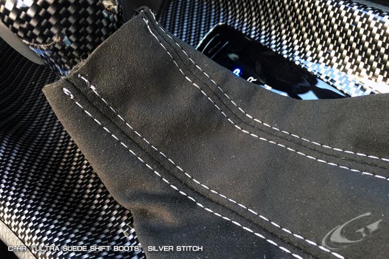 Grazio&Co. ウルトラスウェード シフトブーツ シルバーステッチ