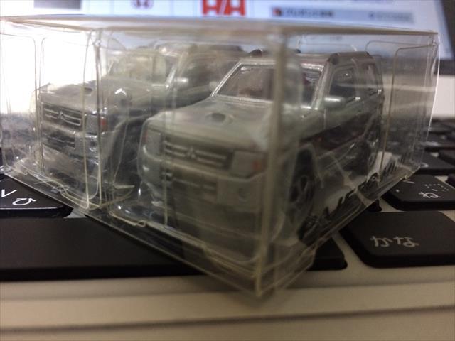 三菱自動車 パジェロミニ ミニカー(販促品)