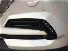 CX-5DUCKS GARDEN フォグランプアッパーガーニッシュの単体画像