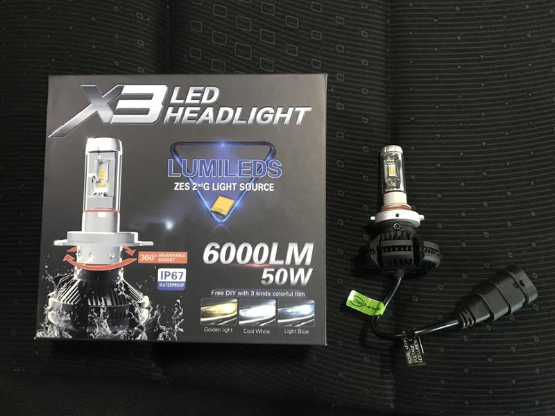 不明 X3  LED  HEADLIGHT