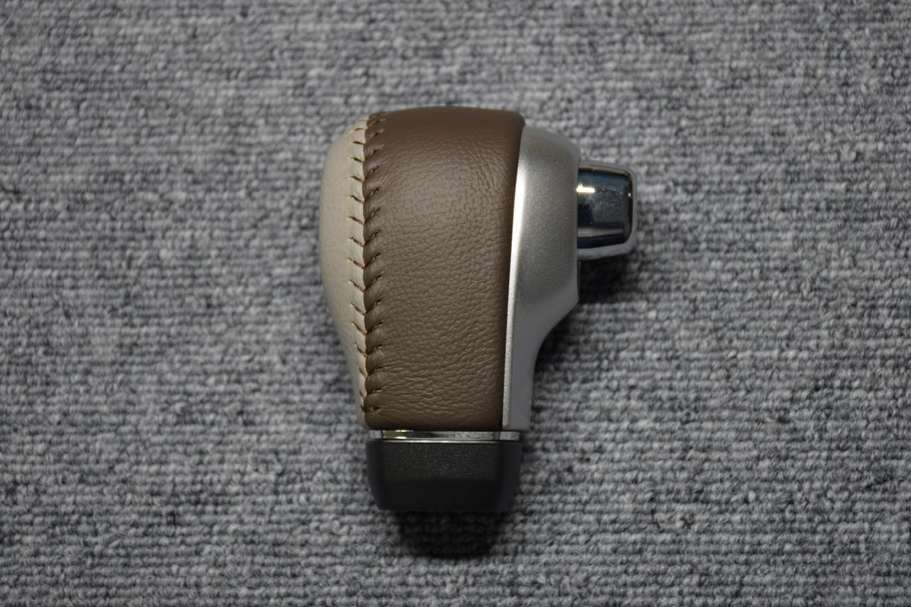 Leather Custom FIRST キャンバス純正OP本革ATノブカスタム