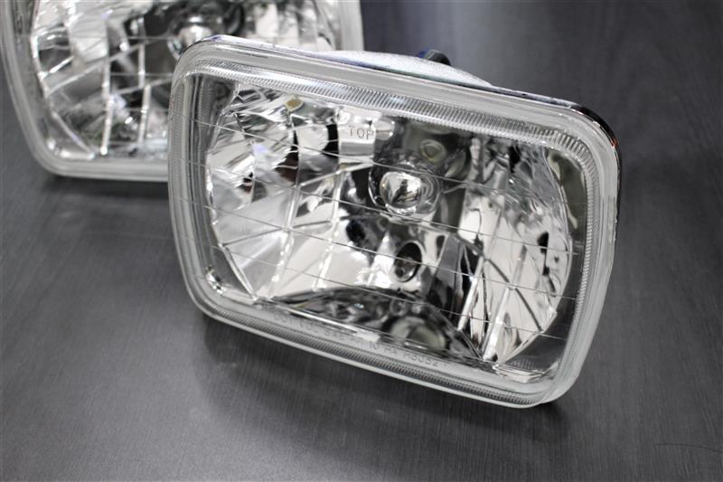 メーカー・ブランド不明 汎用 角形ガラス製 セミシールドビーム