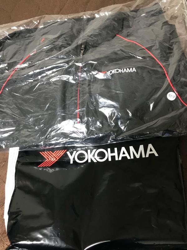 YOKOHAMA ice GUARD 販促用ジャンパー