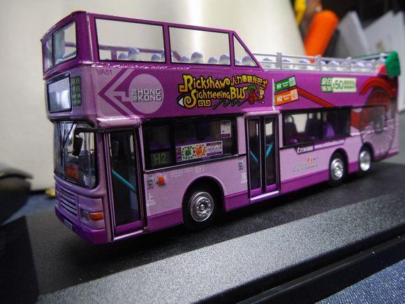 香港新世界第一巴士(ニューワールドファーストバス) 人力車観光バス